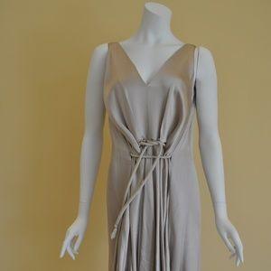 Exquisite Lanvin Waist Straps Dress Size 8